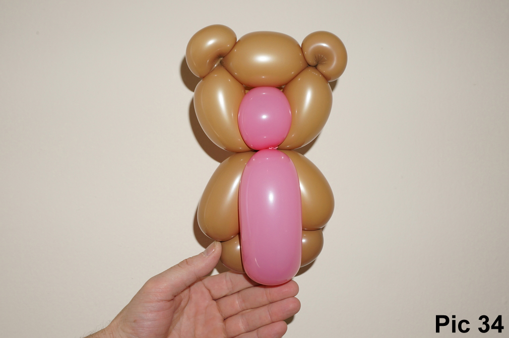 Как сделать медвежонка с шарика