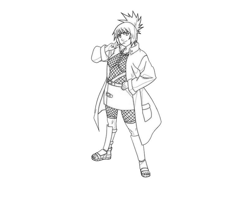 printable-naruto-anko-mitarashi-funny_coloring-pages-1