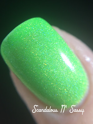 Bliss Polish Can You Feel the Beat macro