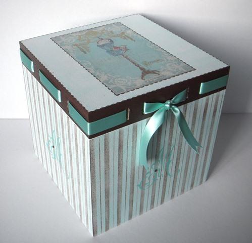 Caja de madera aprender manualidades es - Cajas madera manualidades ...