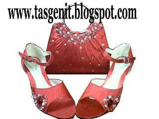 tas pesta sepatu pesta wanita