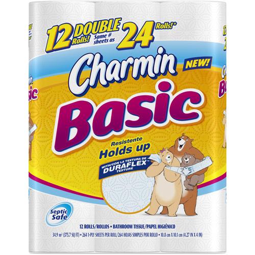 Extreme Couponing Mommy Charmin Basic 12 Double Rolls