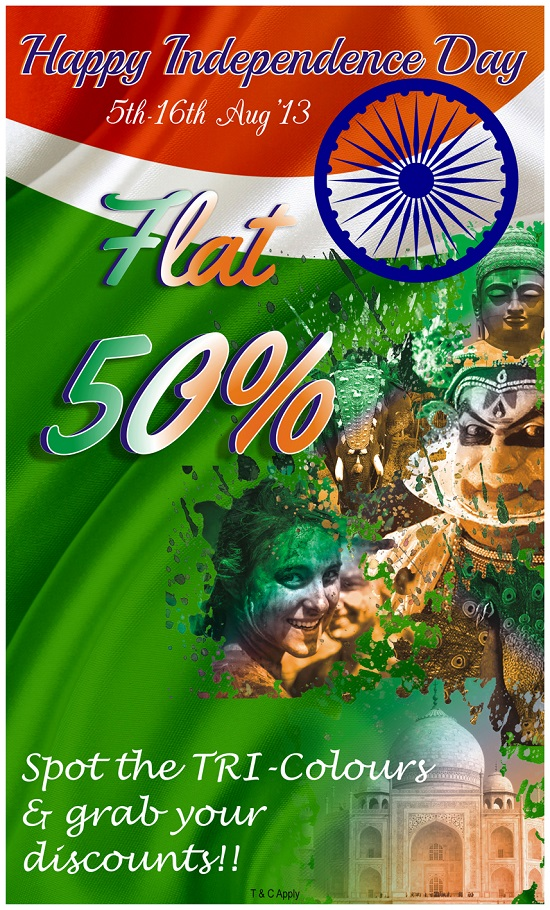 Independence Day indulgence with The Nature's Co., The Nature Co., flat 50%, natural skincare, offers, independence day, indulgence, makeup and beauty blog, india