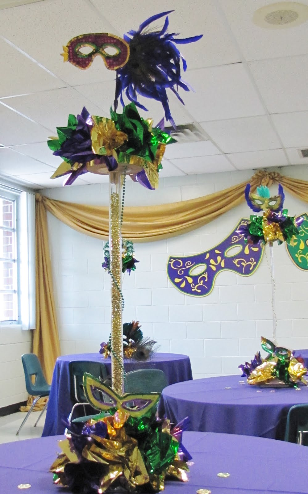 Masquerade Centerpiece Ideas : Party people event decorating company may