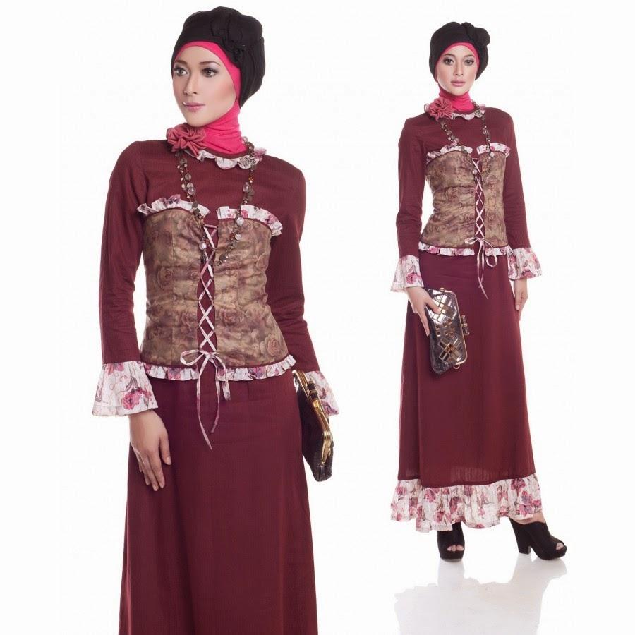 Model-Baju-Batik-Kombinasi
