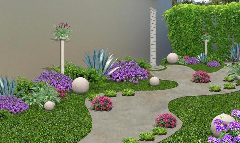 Cuanto cuesta y como construir un jard n 7 pasos for Diseno de jardines frentes de casas