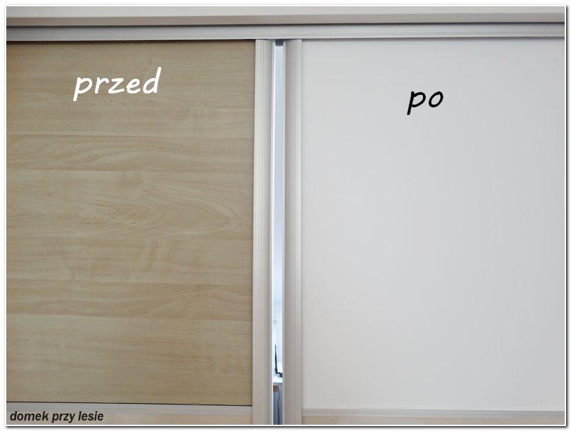 Jak okleić drzwi okleiną