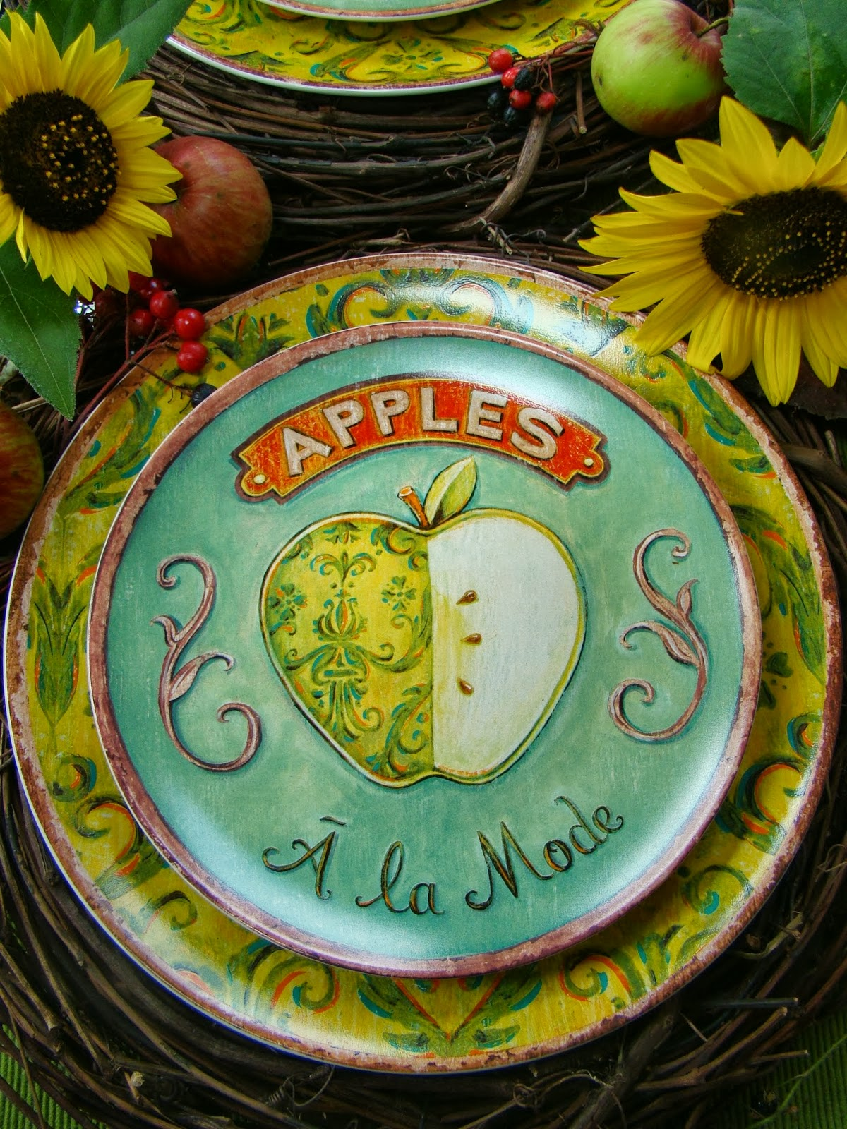 Apples In A Quot Basket Quot Mountain Breaths