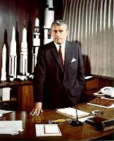 Wernher von Braun, May 1964
