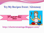 Meena's Try my recipes & Blog 2nd Anniversary Give Away