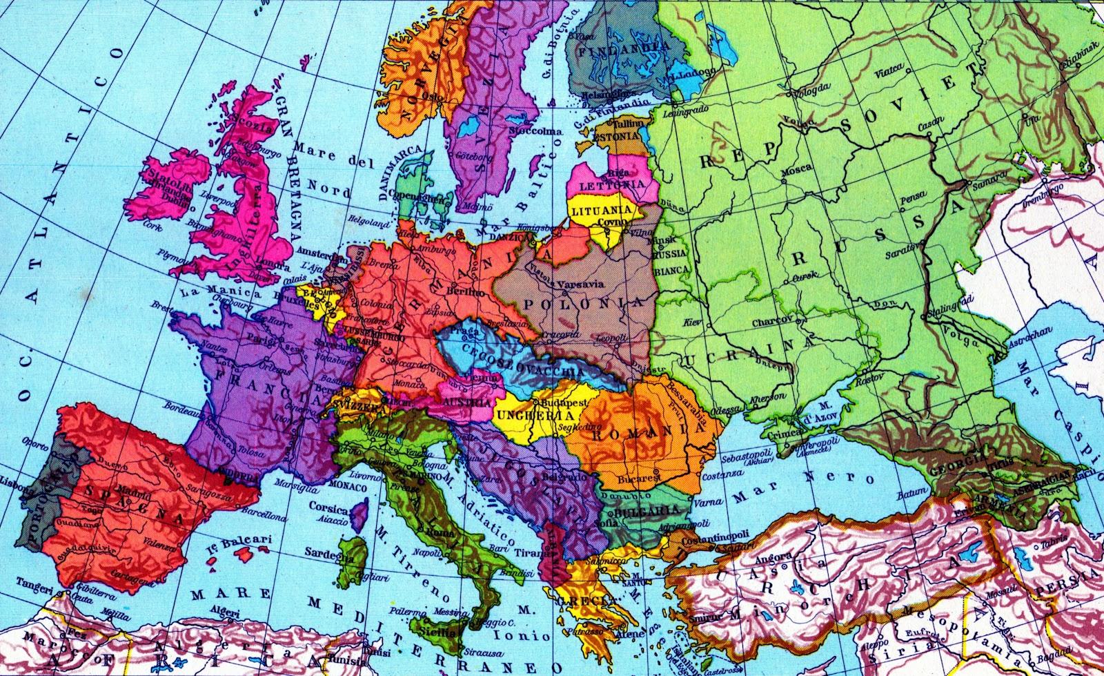 Economia economia politica 1 nel mondo occidentale dal for Carta da parati cartina geografica
