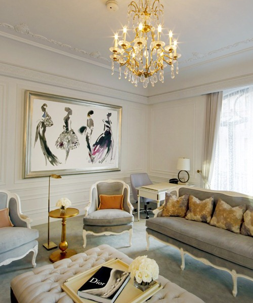 Chanel After Coco Interior Design The Dior Suite At The