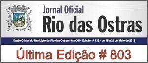 Jornal Oficial Prefeitura Municipal