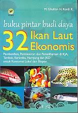 toko buku rahma: buku BUKU PINTAR BUDI DAYA 32 IKAN LAUT EKONOMIS, pengarang ghufran h. kordi k, penerbit lily publisher