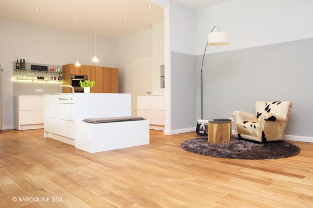 Baroquine: Küche 50 qm | Entwurfsumsetzung