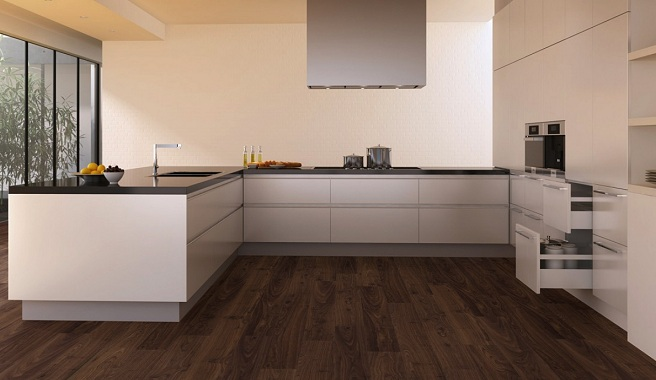 D nde economizar en la reforma de una cocina kansei for Cocinas con suelo gris oscuro