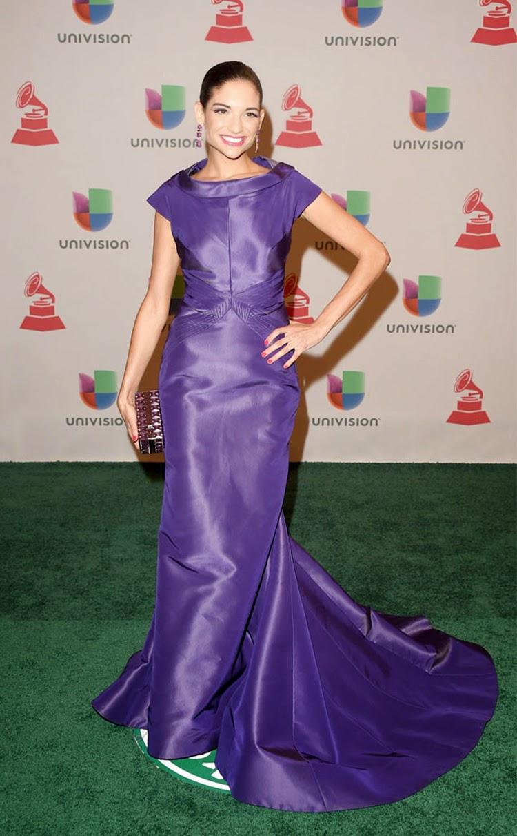 Natalia Jiménez at 2014 Latin Grammy Awards Red Carpet Arrivals