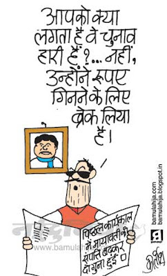 mayawati Cartoon, bsp cartoon, corruption cartoon, indian political cartoon, up election cartoon, assembly elections 2012 cartoons