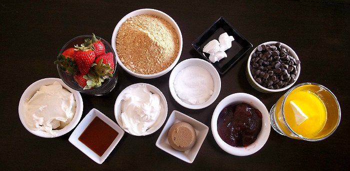 Strawberry Cream Pie Ingredients