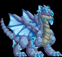 imagen del dragon cuarzo de dragon city