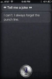 Siri: Tell me a joke.