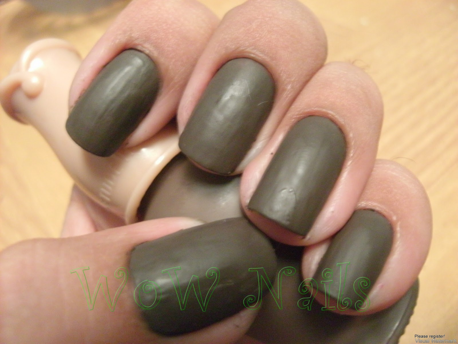 WoW Nails: Etude House Petite Darling Nails Matte Dark Chocolate