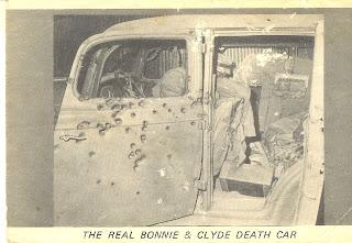 Bonnie And Clydes House Bonnie Clyde Death Car