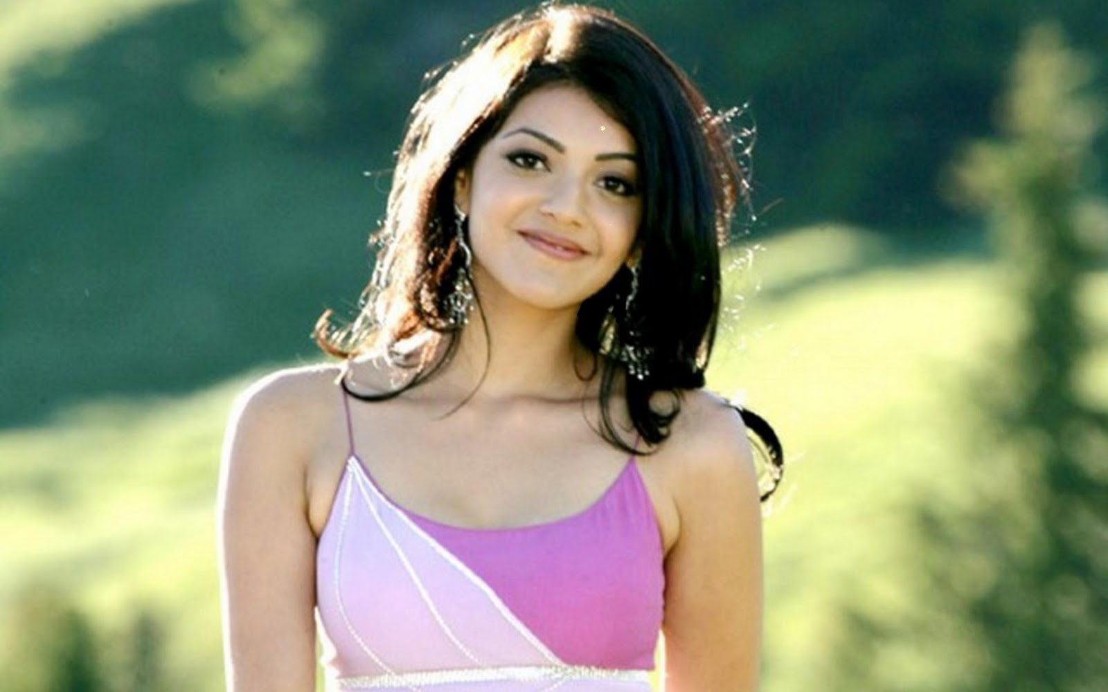 Hd wallpapers for desktop kajal agarwal beautiful face - Pc wallpaper hd bollywood ...