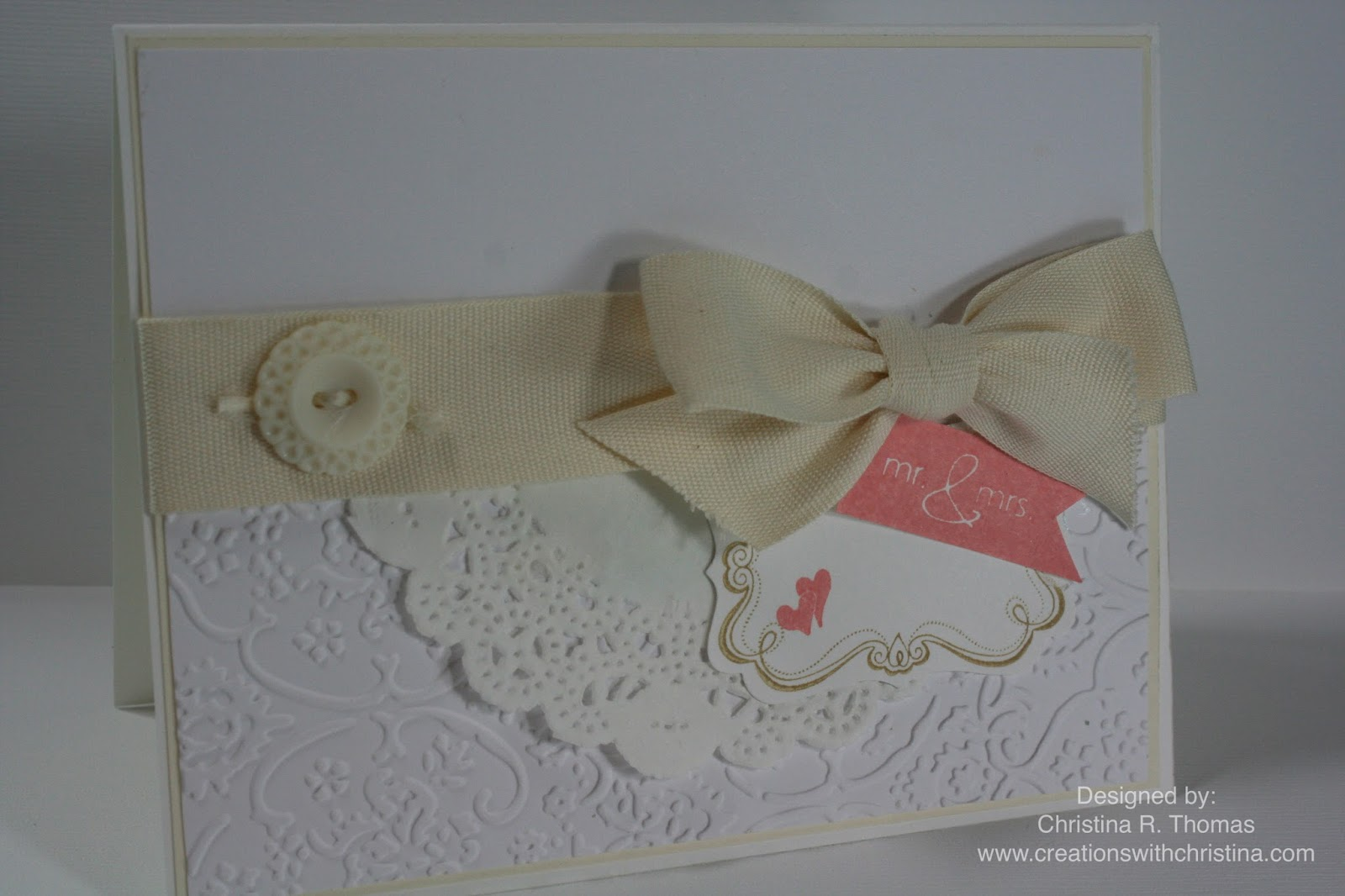 Wedding card and new items in the clearance rack | Creations with