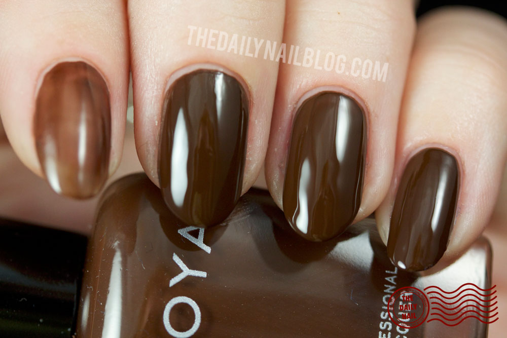 Zoya Cashmere Louise Swatch Fall 2013