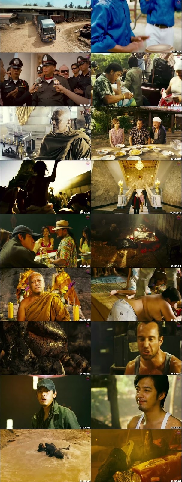 Screen Shot Of Hanuman - The White Monkey Warrior 2008 In Hindi Thai Dual Audio Bluray