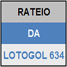 LOTOGOL 634 - MINI RATEIO