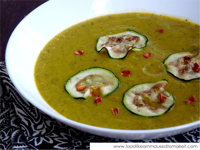 Spicy Zucchini Soup Recipe — Dishmaps