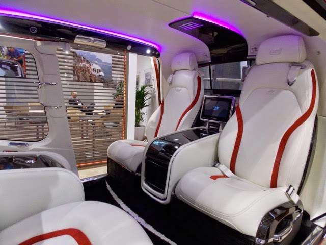 Luxury Helicopter Interior