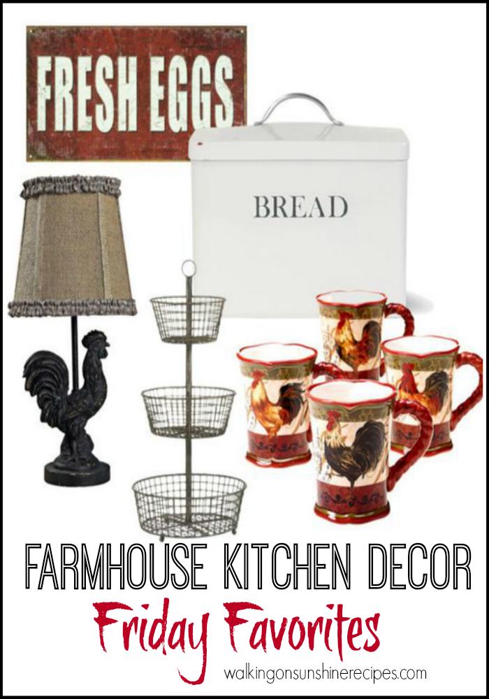 Farmhouse Decor Wish List