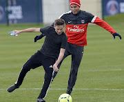 Os três filhos de David Beckham tiveram a oportunidade de desfrutar de . (filhos)