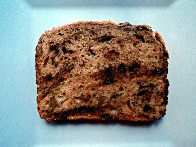 pan, pan de molde, pan de leche, nueces, miel, chocolate, receta, casera, desayuno