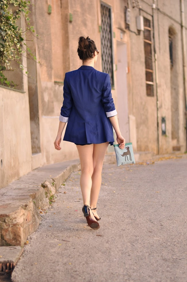 streetstyle short suit emerja