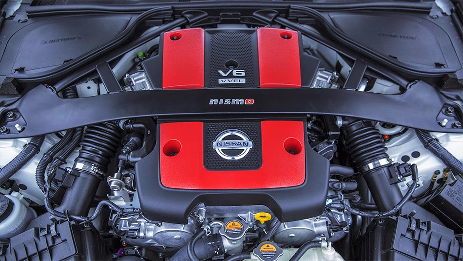 2015 Nissan 370Z Nismo Engine