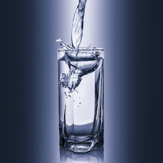 Water stimulates the metabolism.