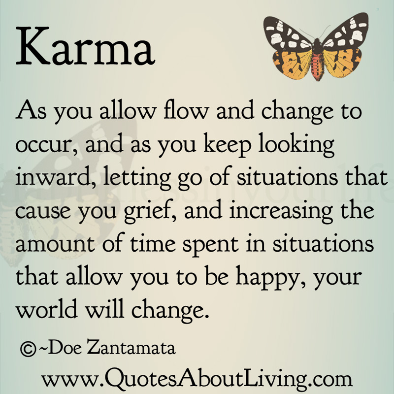 Karma Quotes About Love. QuotesGram
