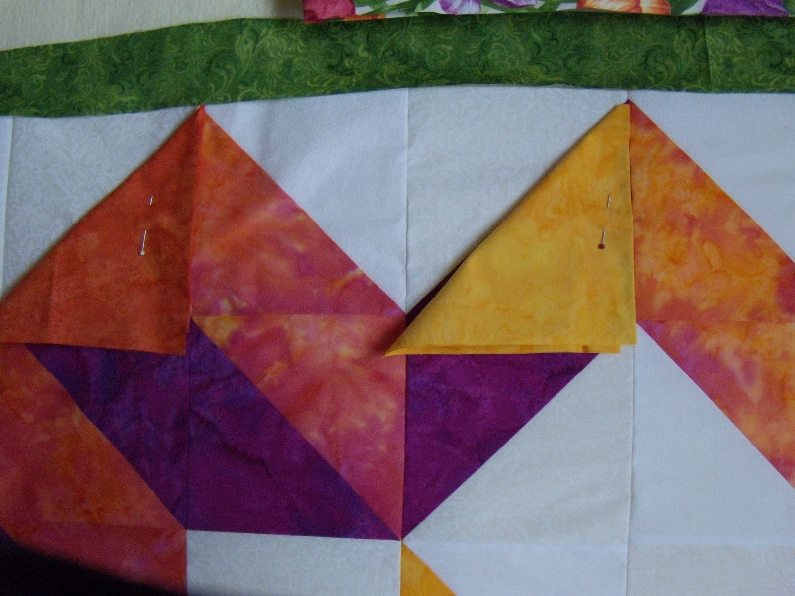 Quilting Lines Design Wall Fabric Choices