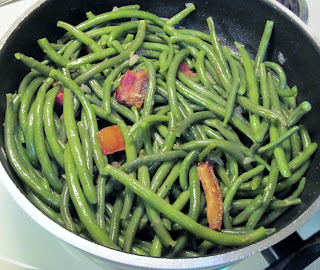 Southern style string beans