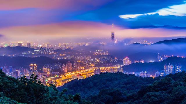 Taipei Taiwan China HD Wallpaper