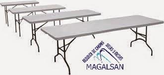alquiler de mesas en jaen