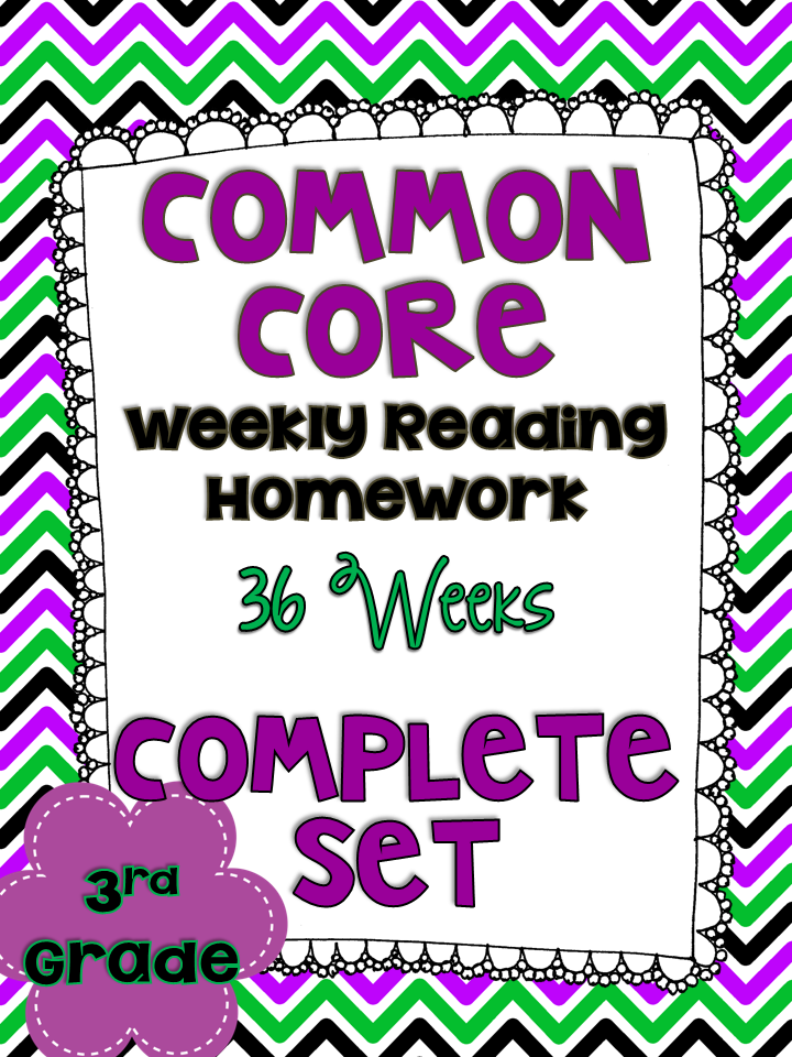 http://www.teacherspayteachers.com/Product/3rd-Grade-Common-Core-Weekly-Reading-Homework-Review-Complete-Set-36-Weeks-1086611