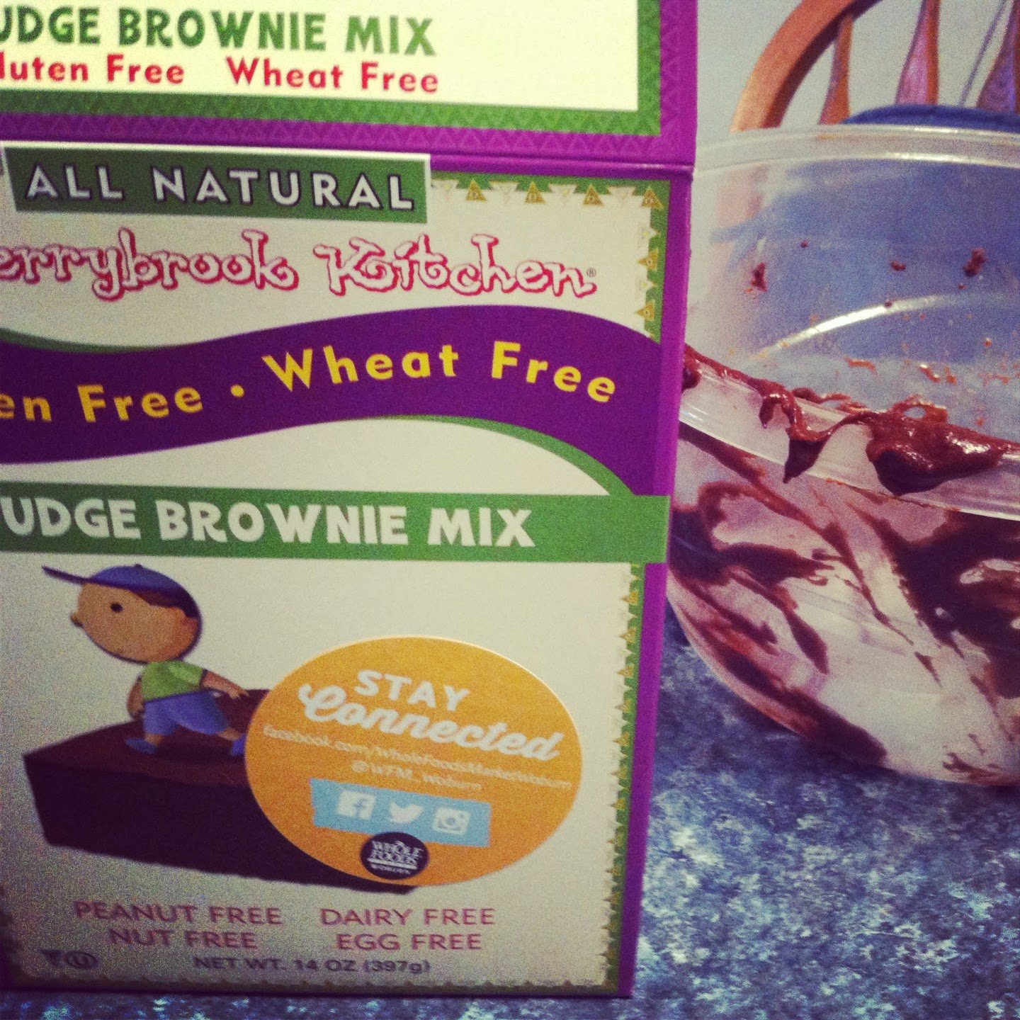Cherrybrook Kitchen brownie mix one item sampled by Cooking Chat recently.