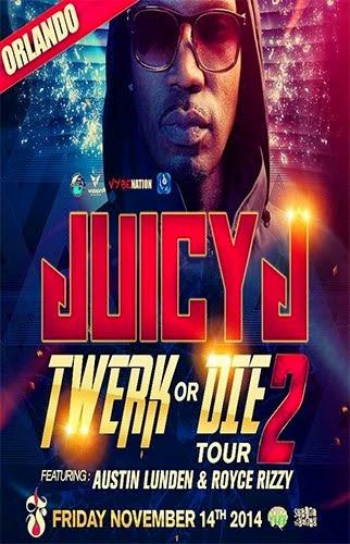 JUICY J NOV 14TH