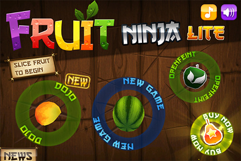 Fruit Ninja Free Iphone 4