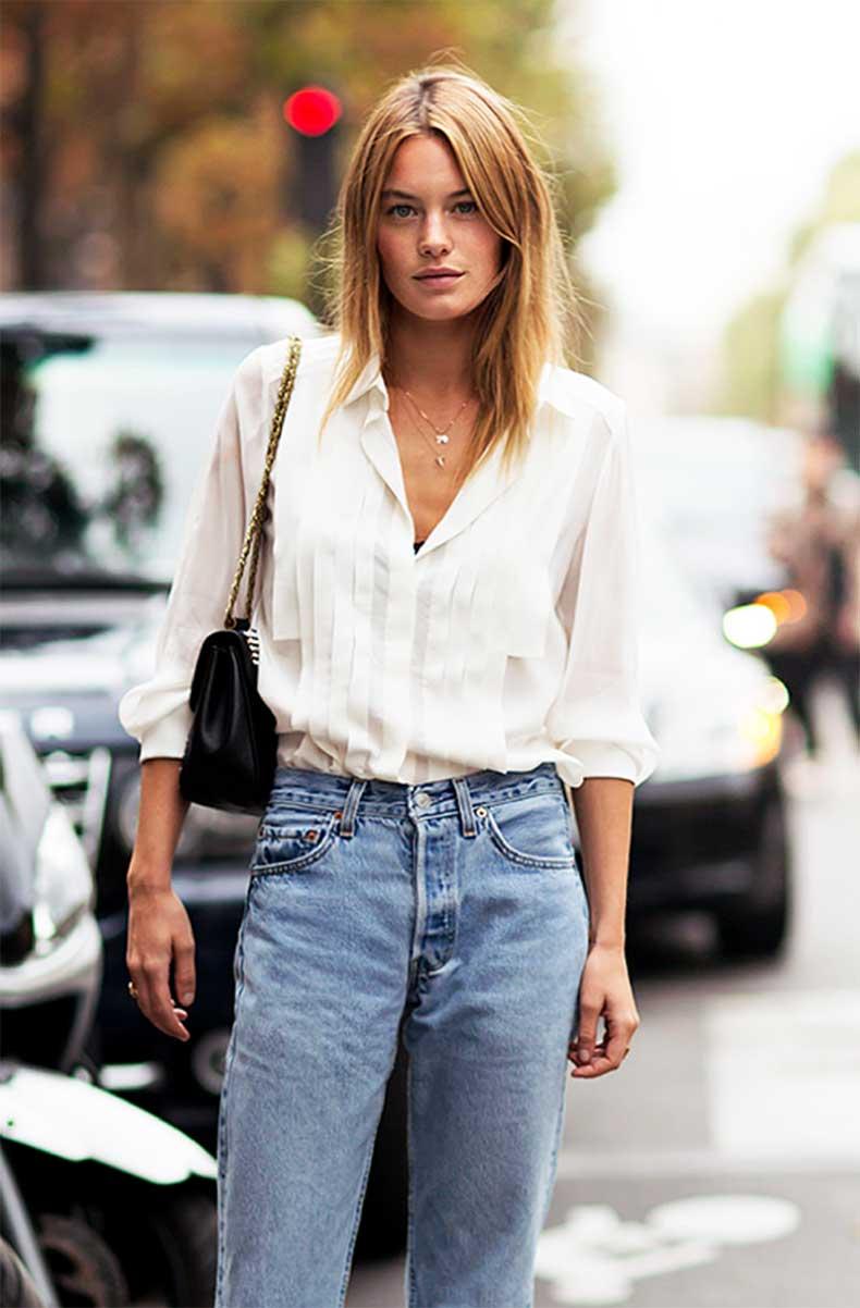 Outfit Inspiration: The Classic White Shirt - The Front Row View